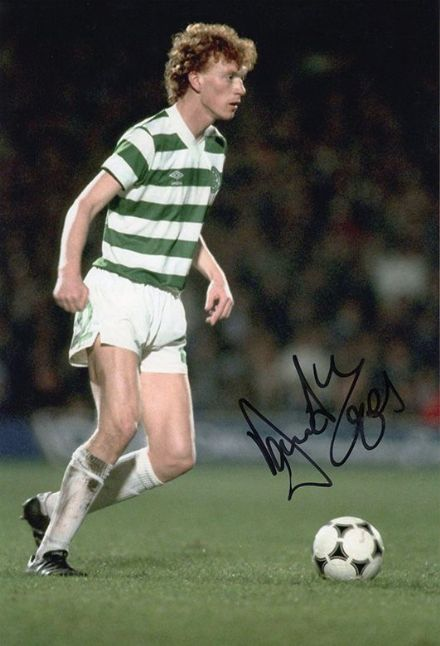 David Moyes, Glasgow Celtic, signed 12x8 inch photo.